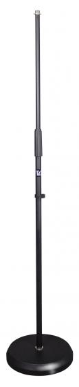 TGI Microphone Stand. Straight. Round Heavy Base.