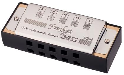 Tombo Harmonica Pocket Bass