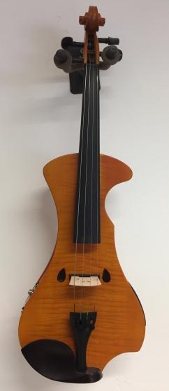 Hidersine Electric Violin Outfit - Flamed Maple Veneer - B-Stock CL1082