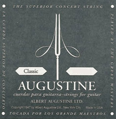 Augustine Black Label SET of Classical Guitar Strings