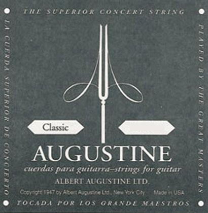 Augustine Black Label D Classical Guitar String