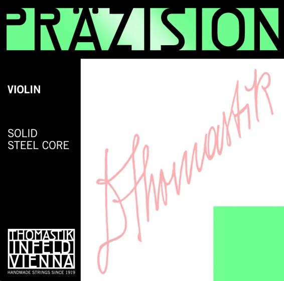 Precision Violin String D. Steel Core, Tin 1/16