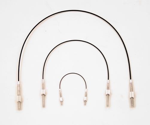 Wittner Violin Tailpiece Wire. Stainless Steel. 1/4-1/16
