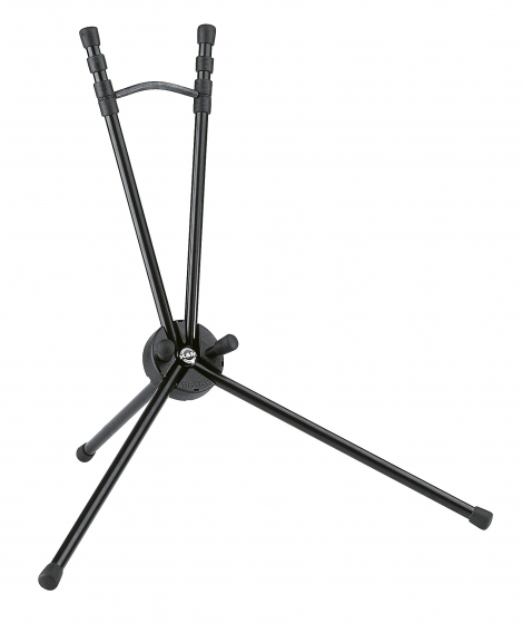 K&M Saxophone Stand SAXXY Tenor Black