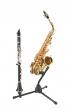K&M Saxophone Stand Alto Tenor Black