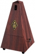 Wittner Metronome. Plastic. Mahogany Colour. With Bell