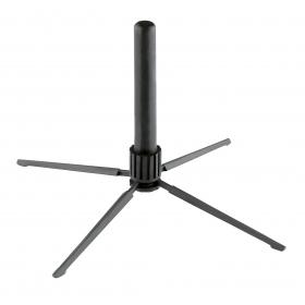 K&M Flute Stand Black - Foldable