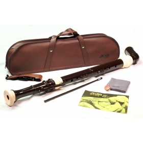 Aulos Bass Recorder 521 Knickstyle