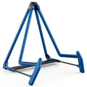 K&M Acoustic Guitar Stand A Frame Blue