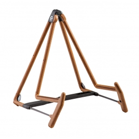 K&M Acoustic Guitar Stand A Frame Cork