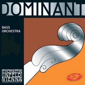 Dominant Double Bass String E. Chrome Wound. 3/4