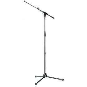 K&M MicrophoneStand Extendable Boom Topline Black