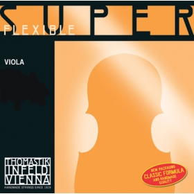 SuperFlexible Viola String C. Chrome Wound 4/4 - Strong*R
