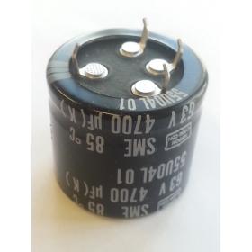 4700MF 10% 63VDC EC R/S