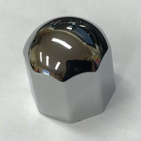 Large Chrome Octal Knob (D Shaped Shaft fitting)