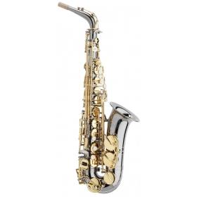 Trevor James Horn Classic II Alto Sax Outfit - Black. Gold Keys