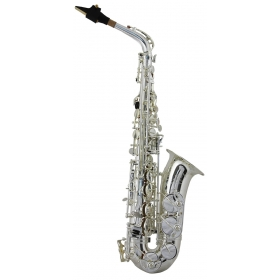 Trevor James SR Alto Sax Outfit - Silver Plated