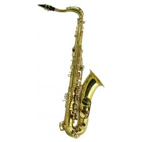 Trevor James SR Tenor Sax Outfit - Bronze. Gold Lacquer Keys