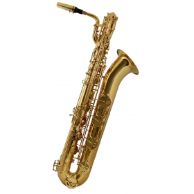Vivace by Kurioshi Baritone Sax Outfit - Gold Lacquer
