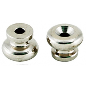 TGI Guitar Strap Buttons Nickel Pack of 2
