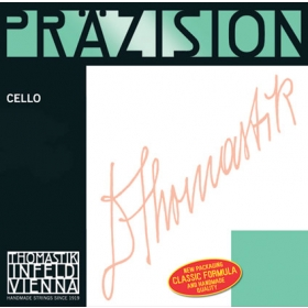 Precision Cello D. Steel Core, Chrome 3/4