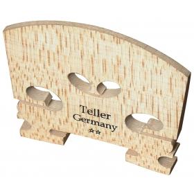 Violin Bridge - Teller Model. Uncut. 3/4