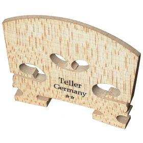 Violin Bridge - Teller Model. Uncut. 1/16