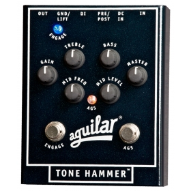 Aguilar Effects Pedal Tone Hammer Preamp Direct Box
