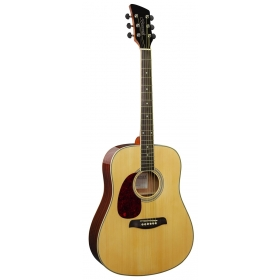 Brunswick Dreadnought Natural LeftHanded