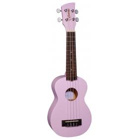 Brunswick Soprano Ukulele Purple Satin - Aquila Strings