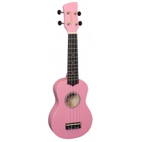 Brunswick Soprano Ukulele Pink