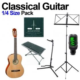 Classical Guitar 1/4 Beginners Kids Pack