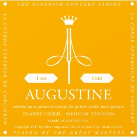 Augustine Gold Label SET of Classical Guitar Strings