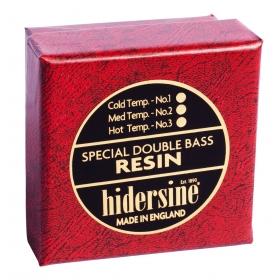 Hidersine Double Bass Rosin Medium, Temperate