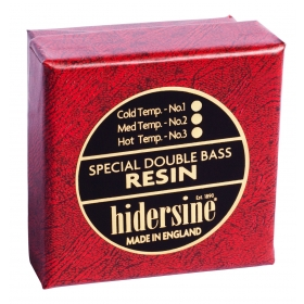 Hidersine Double Bass Rosin Hard, Warm