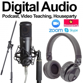 Digital Audio Pack - Ideal for Video Tutors & Podcasters