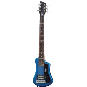 Hofner HCT Shorty Guitar - Blue