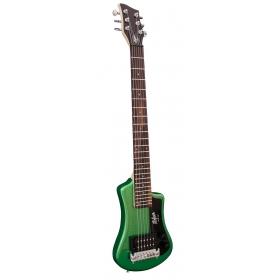 Hofner HCT Shorty Guitar - Green