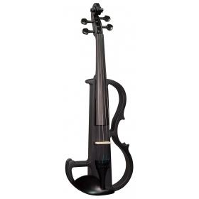 Hidersine Electric Violin Outfit - Black Satin Finish
