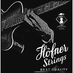 Hofner Bass Nylon Flatwound