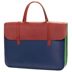 Montford Leather Music Case - Multi Colour