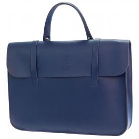 Montford Leather Music Case - Navy