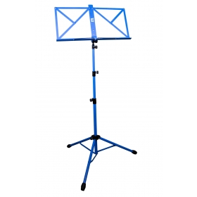TGI Music Stand in Bag. Blue