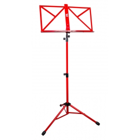 TGI Music Stand in Bag. Red