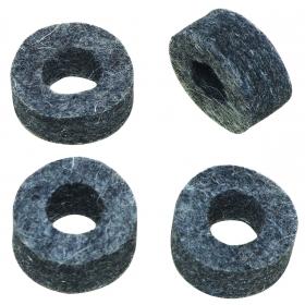 Dixon Hi-Hat Clutch Felt Washers, 4 Pack