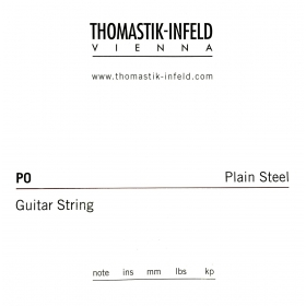Thomastik Plain Guitar String 0.017 Brass Plated