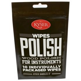 Kyser Care Guitar Polish wipes x10