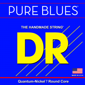 DR Strings Pure Blues Bass Medium