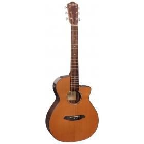 Rathbone No.1 - Cedar/Rosewood E/Cut - Inc. Gigbag