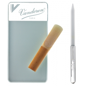 Vandoren Abrasive Glass Reed Resurfacer & Stick